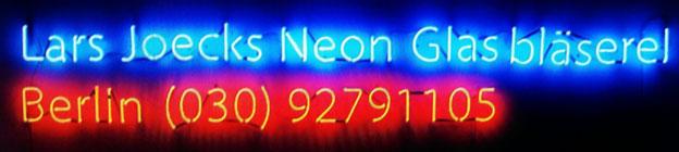Neonbuchstaben//Neonwerbung