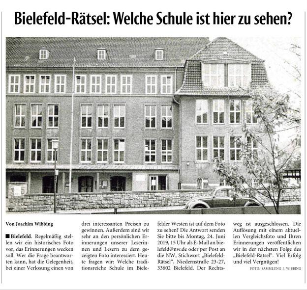Neue Westfälische, 15.06.2019 --> www.nw.de