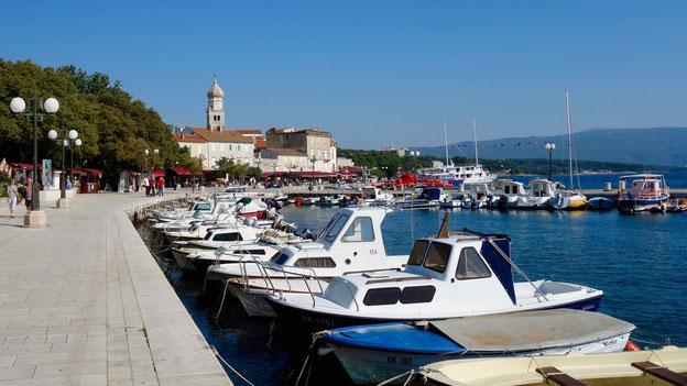 Reisebericht Krk, Kroatien mit dem Wohnmobil