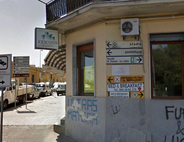 Matera Via S. Pardo