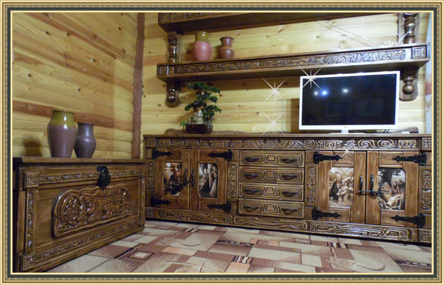 Мебель под старину для дома