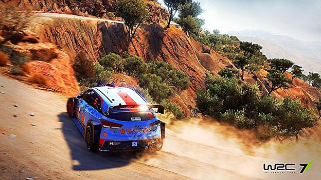 Rally Spiele: WRC 7