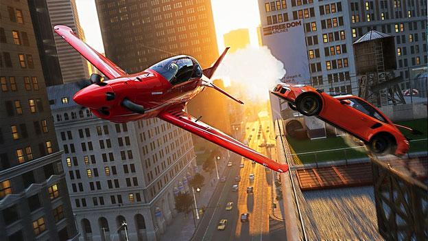 The Crew 2 - Autos und Flugzeuge