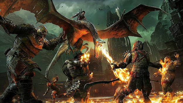 Beste Xbox One Spiele 2017: Mittelerde: Schatten des Krieges