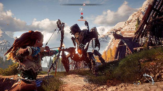 Beste PS4-Spiele 2017: Horizon Zero Dawn