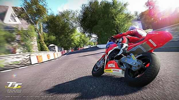 Motorrad Spiele: TT Isle of Man: Ride on the Edge