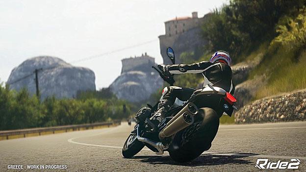 Motorrad Spiele: Ride 2