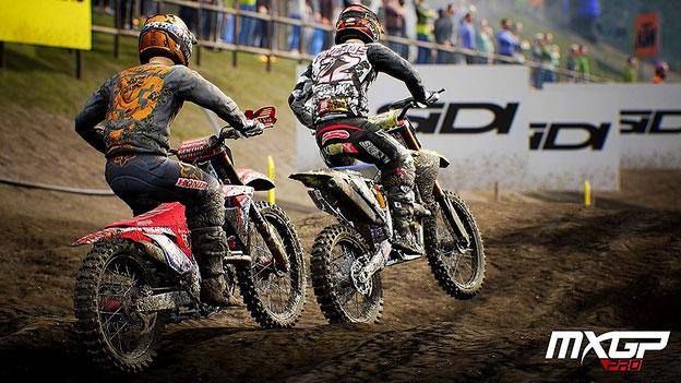 Motorrad Spiele: MXGP Pro
