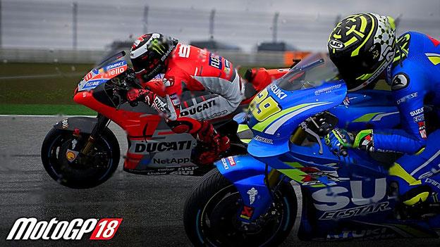 MotoGP 18 - Ducati gegen Suzuki