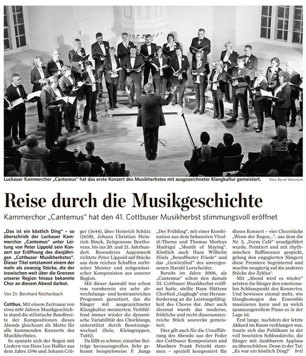 Lausitzer Rundschau 4.10.2014