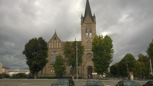 Die katholische Kirche von Vilijka