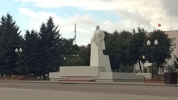 Und Lenin auf dem Marktplatz von Vilijka