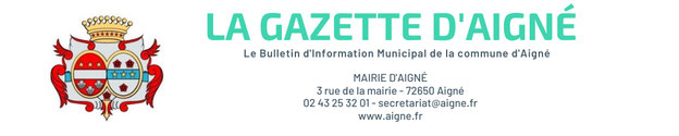 aigné bulletin information municipal