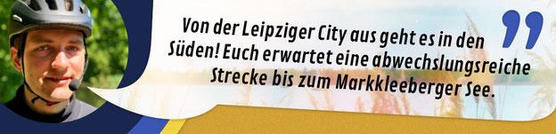 """Titelbild Segway Fahrten von Leipzig zum Markkleeberger See: """"Von der Leipziger City aus geht es in den Süden! Euch erwartet eine abwechslungsreiche Strecke bis zum Markkleeberger See."""""""