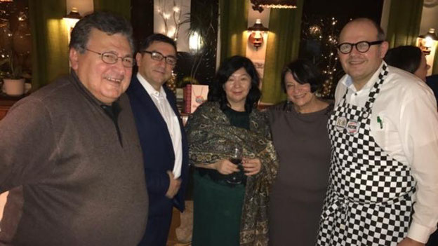 Kirgisische Ministerin zu Besuch im Vingster Pohl 2018