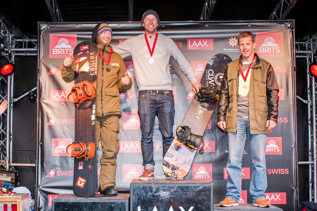 Head Coach Martin 2nd at the Brits, Laax, 2016
