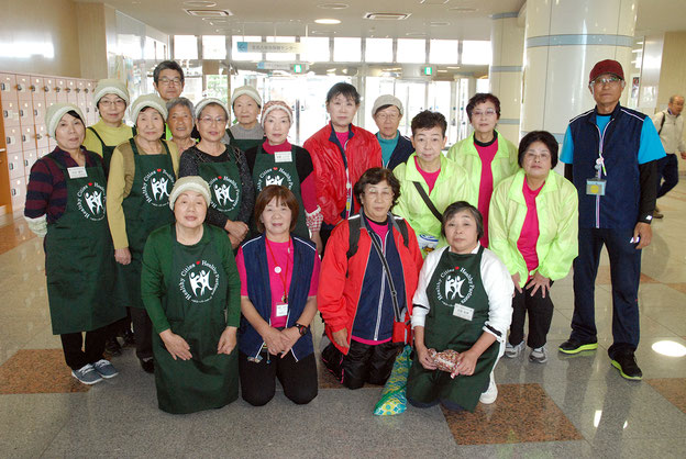 北名古屋市ウォーキング推進員と北名古屋市食生活改善推進協議会の皆さん