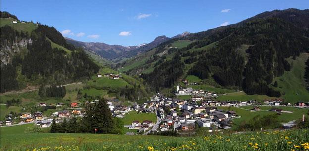 Grossarl im Salzburger Land im Sommer