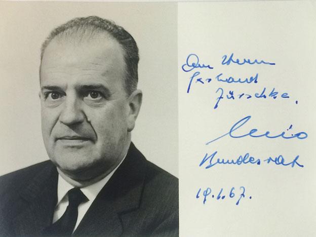 Autograph Nello Cellio Autogramm