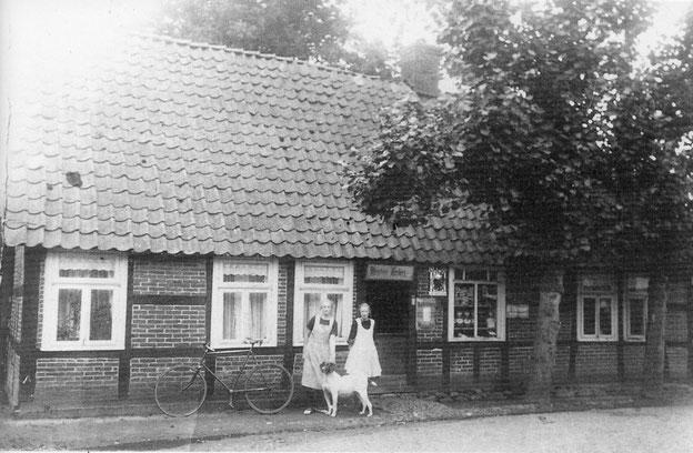 Das Heimathaus im ursprünglichen Zustand.