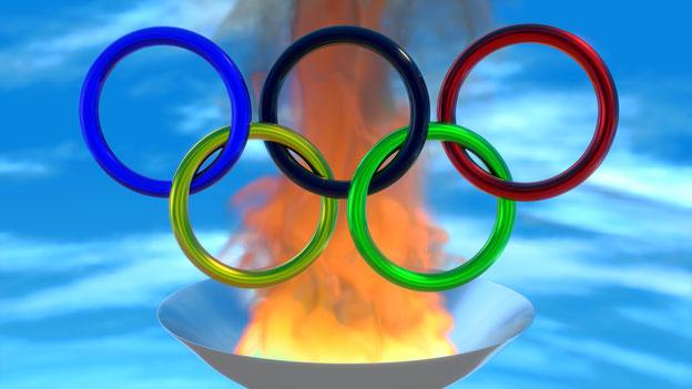 Olympisches Feuer -  Jpeg Datei