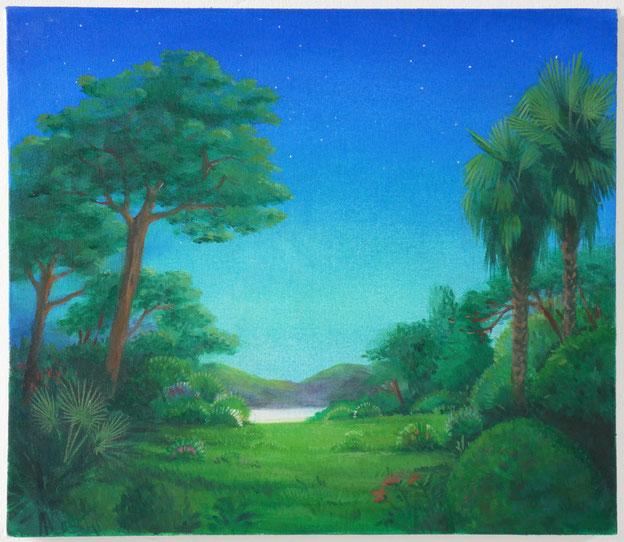 Smugglers' Moon Part V, 2016  42 x 36 cm