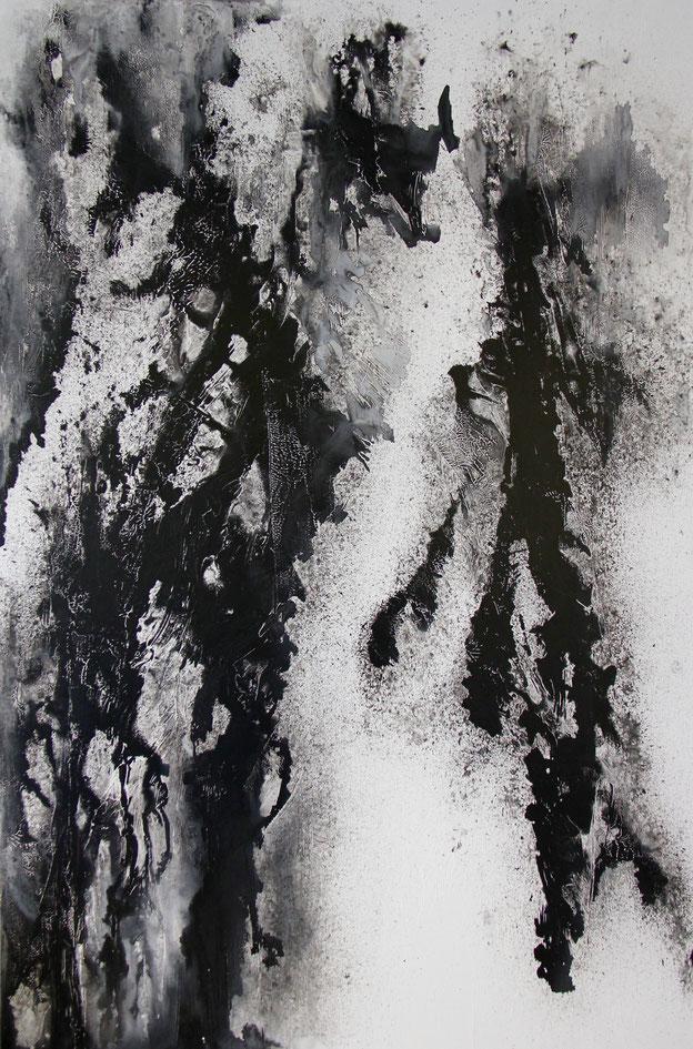 La Victoire - Encre - 150x100 cm - 2016