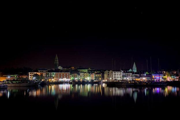 Izola by night! Always wonderful!