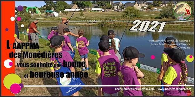 tour de france pêche animation école de pêche sarran corrèze