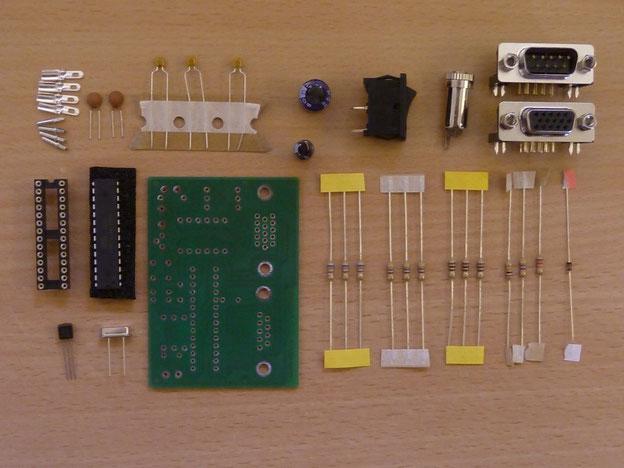 Bauteile Uniboard