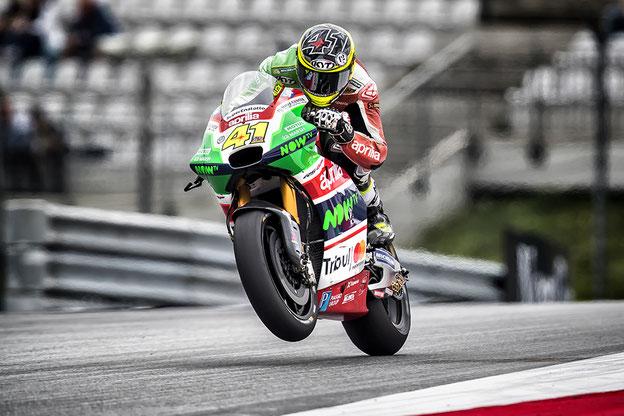 Espargaro - Aprilia MotoGP - Foto effettuata con 400mm f2.8 + moltiplicatore 2X
