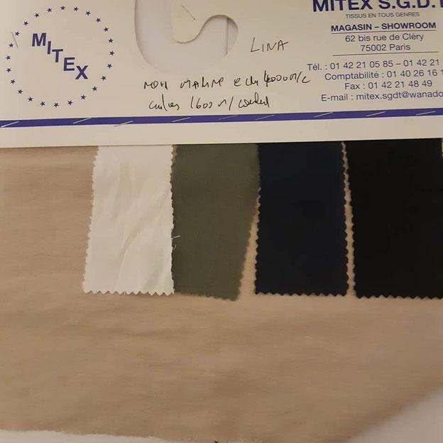 fournisseur de tissus nappe en lin