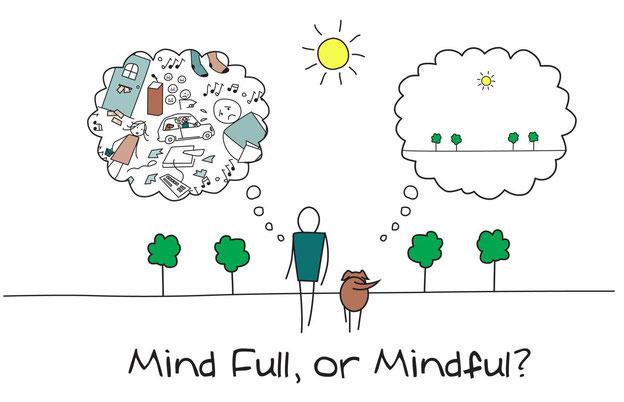 meditation de pleine conscience sur la roche sur Yon vendee