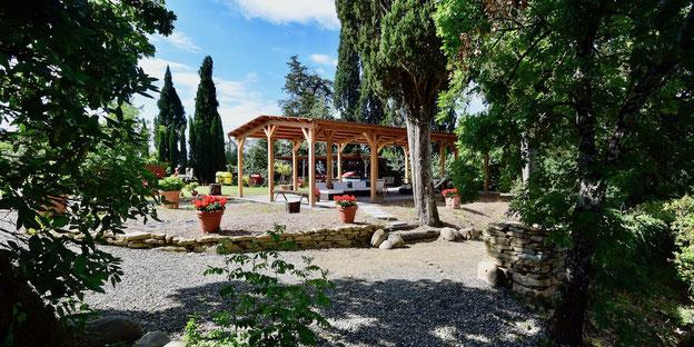 Casafredda gazebo, Arezzo, Tuscany