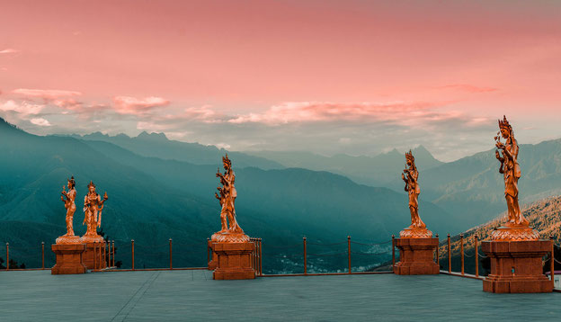 Photo by Passang Tobgay on Unsplash-Buddha point, Thimphu, Bhutan