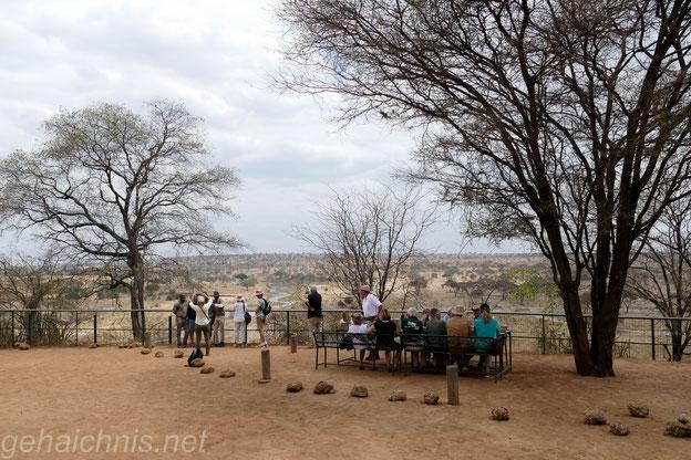 Lunchtime auf dem Picknickplatz inmitten des Nationalparks