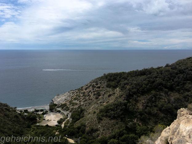 Oberhalb der Playa del Canuela