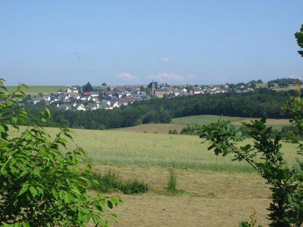 Ausblicke am Schinderhannes-Radweg