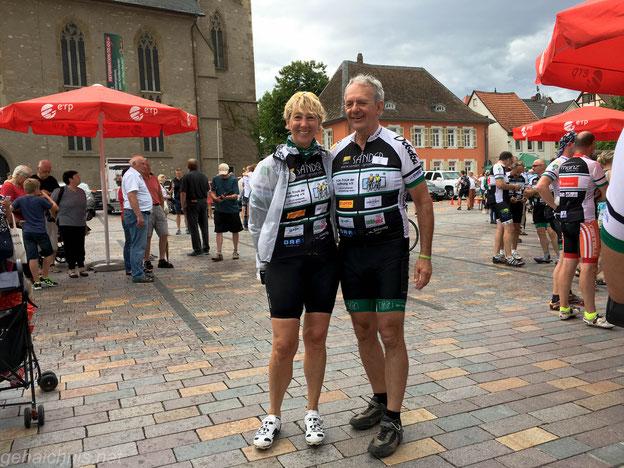 Stopp in Alzey 2017 - mit Hans Lutz