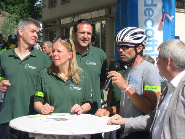 Eröffnung des 20. Rad-Erlebnistages im Naheland
