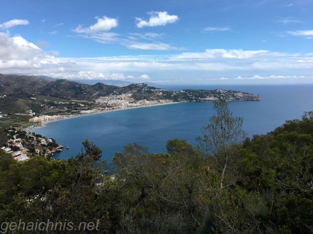 Bucht bei La Herradura