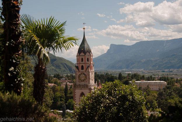 Der Trum der Pfarrkirche mal wieder aus einer anderen Perspektive