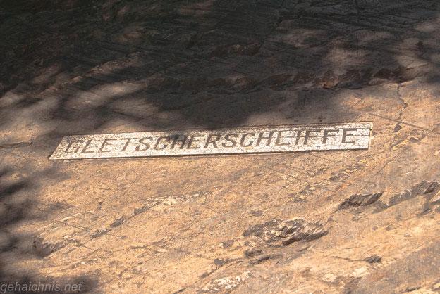 Gletscherschliffe