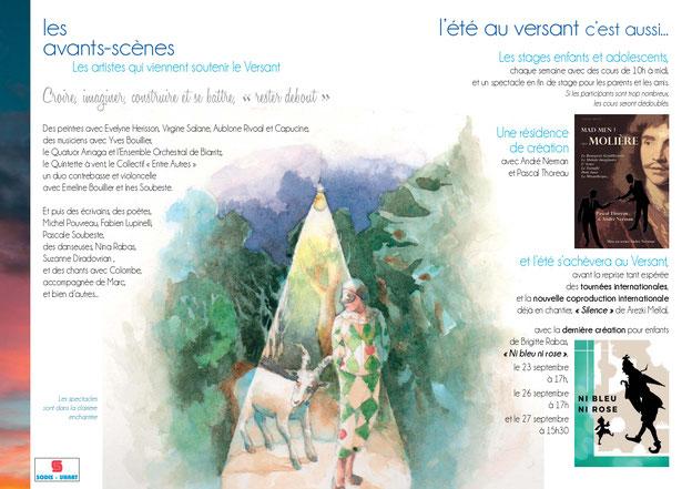 théâtre du Versant - Biarritz - Théâtre d'une nuit d'été - Spectacle - Festival de théâtre