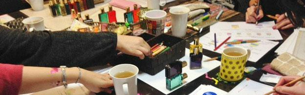 カラーセラピスト勉強会「色の意味を深める」2016年