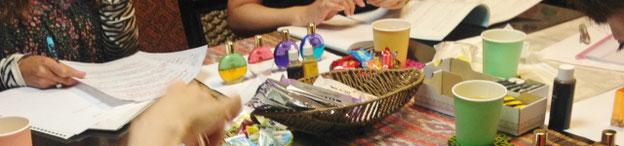 スプリンググリーンとゴールドの意味「カラーセラピスト勉強会」