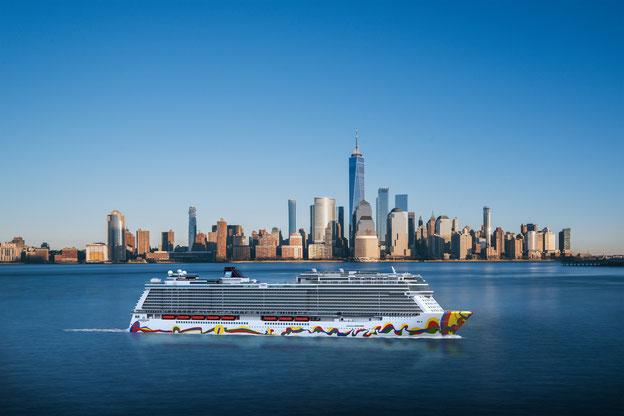 Norwegian Encore wird in New York stationiert // © Norwegian Cruise Line