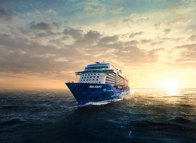 Schiffsposition & Webcam der Mein Schiff 5 // © TUI Cruises