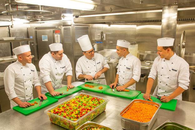 Kochausbildung bei TUI Cruises // © TUI Cruises