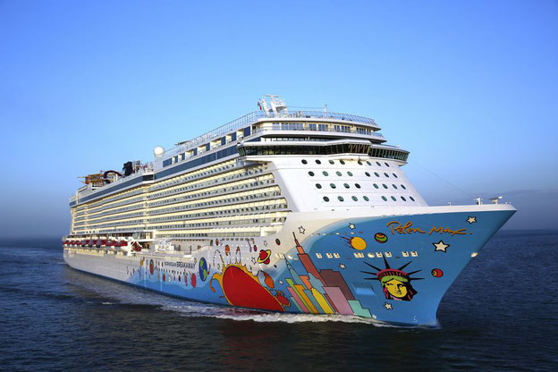 Norwegian Breakaway // © Norwegian Cruise Line